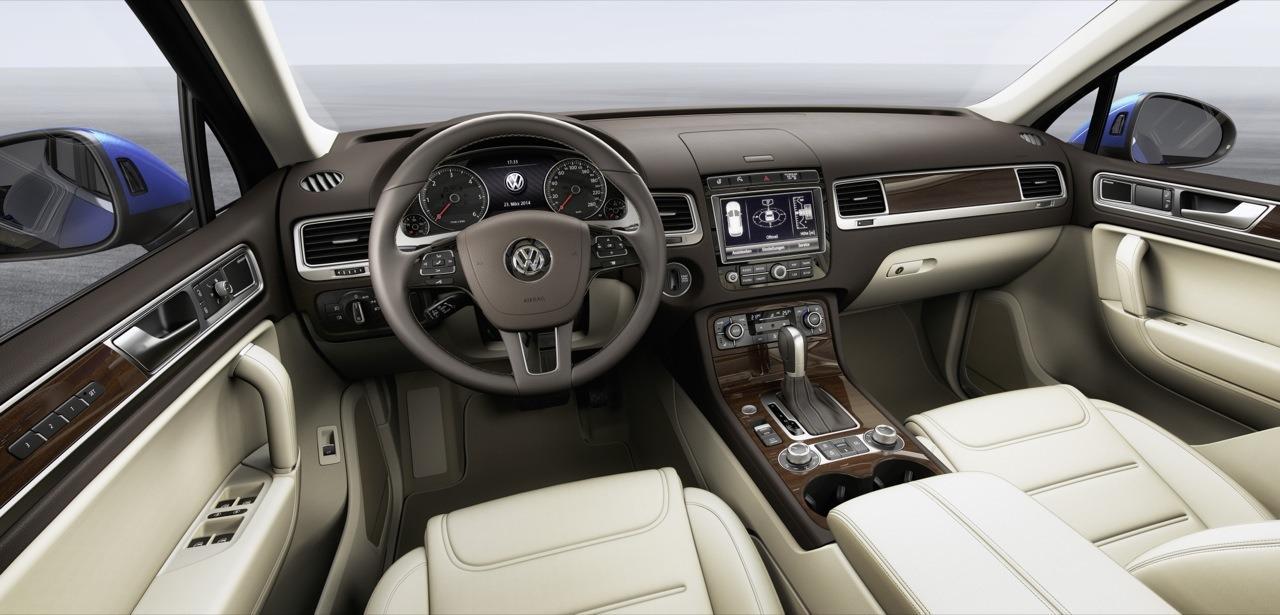 VW Touareg NF (7P) стояночный тормоз
